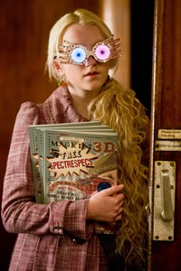I think everybody did a great job espcially Helena Boham Carter and Alan Rickman but Evanna Lynch played Luna perfectly! From everything to Luna's craziness and to her bravery Evanna Lynch masterd that part