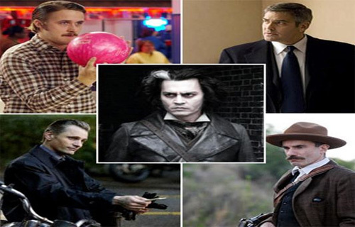 Ryan Gosling,George Clooney,Johnny Depp,Viggo Mortensen and Daniel দিন Lewis