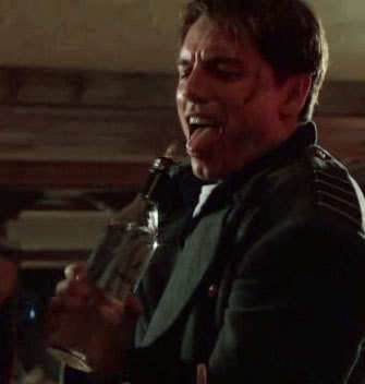 John Barrowman holding water in a bottle ;)