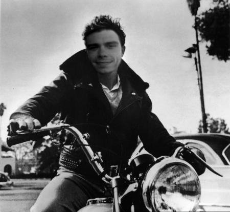 My man on a motorcycle. <333