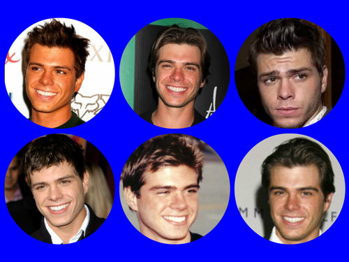 My man with 6 different hairstyles. :)