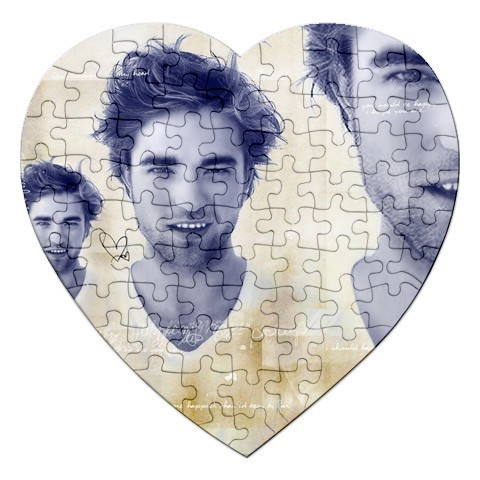 here is a jigsaw hart-, hart of my handsome Robert,who is and always will be in my heart<3