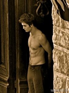 my sexy shirtless Robert...THUD<3