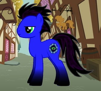 My main OC: Name: Nocturnal Mirage Age: 23 Gender: Stallion Race: Earth pony Job: Night time guard at the Crystalline Embassy in Canterlot. (When he's on call, he travels da airship, because it takes only one and a half hours, much faster than da train.) Abilities: enhanced stamina, indirect sight (a special sense he was born with, it allows him to see through the eyes of any living thing within a small radius), levitation, and basic terra-manipulation. Personality: reserved, yet quick-tempered, good sense of humor and good communication skills, but most of the time he avoids expressing his true emotions and manages to hide them effectively. Strengths: can be very determined but only when he thinks it worth the effort, sober-minded, vigilant, creative, can be a persuasive speaker, he does not bond easily, but once he embraced somepony to his cuore he can be very insistent. When pushed to the limits o cornered can be a vicious fighter. Weaknesses: low confidence and willpower, inferiority complex, pessimistic attitude, limited amount of magic, sometimes loses focus on what's important, sometimes prefers the easier way, therefore he can be seduced da power. Other info: Mirage carries recessive unicorn genes, and he can channel some magic through his hooves. He is also on constant struggle with his sinful cravings. Since he only has limited amount of unicorn magic, he's always hungry for more. His dark side is under control, but this control is quite unstable… Bio: He was born in a place called Terra Absolutia, an isolated village in Eastern Equestria, surrounded da tall mountains. His mother is Summer Pride, an Elemental unicorn, the ancient Element of Fire. He has a younger sister, Moonlight Lullaby, and they both grew up in ideal, loving surroundings. They moved to the Crystal Empire, King Sombra fell in Amore with their mother and married her. After Sombra went mad, they all vanished with the Crystal Empire for 1 000 years. When it returned Mirage suffered from amnesia and began to wander the land aimlessly. Mirage wind up in Ponyville and bonded with Pinkie Pie and some of her friends, who helped him remember his past, although his mother and sister have disappeared with a lust for vengeance in their heart. Mirage settled down in Ponyville, later, he took a night time job at the embassy of the Crystal Empire in Canterlot.