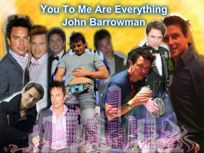 John Barrowman :) I made this.
