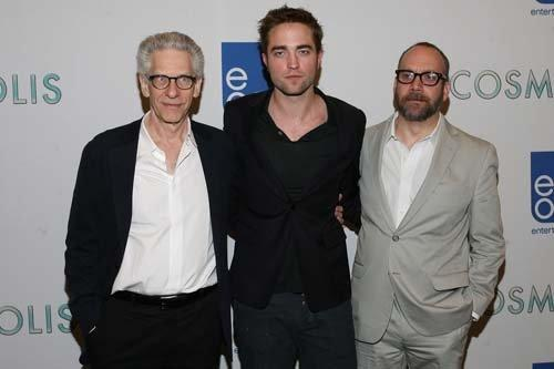 my Robert with his Cosmopolis director,David Cronenberg(on the left) and his Cosmopolis co-star,Paul Giamatti(on the right).My Robert is definitely the hottest of them<3