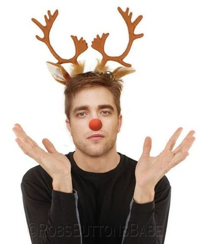 my red nosed Rob-reindeer<3