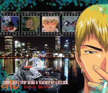 Eikichi Onizuka from Great Teacher Onizuka