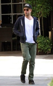 my baby wearing green pants<3