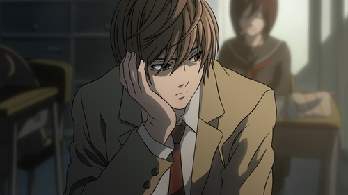 Light Yagami.  But I'm not a fangirl.  I'm even on L's side.  But this is a character I'm sure even non-anime fans would appreciate the good looks of.  Proven and tested.  I saw my non-anime fan, young adult classmates' reaction when they saw this character.  They were much more amazed when I told them the story behind.