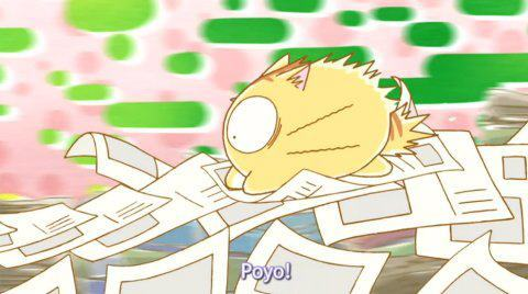 My feel good ipakita would be Poyopoyo :D Cause it's hilarious.