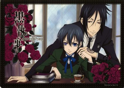 Aside from One piece and Fairy Tail, I Always feel good when I watch Black Butler :)