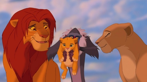 Image result for Simba with child