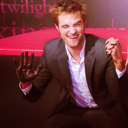 talk to the cement covered hand..lol<3