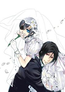 Ciel Phantomhive with Sebastian~