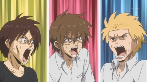 """Every character from """"The Daily Lives of High School Boys"""" is overly dramatic! XD"""