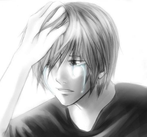 Anime Characters Crying : Happy crying anime boy pixshark images