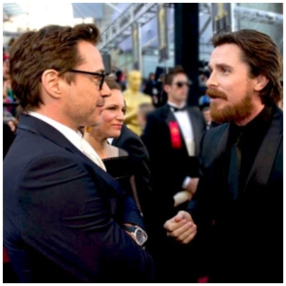 robert downey jr christian bale - Iron Man 배트맨