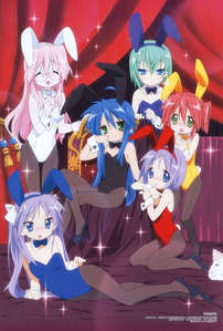 Lucky Star as The Melancholy of Haruhi Suzumiya