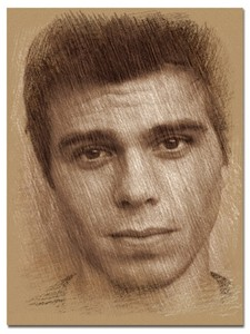 My आइकन is Matthew Lawrence in a drawing of charcoal, I picked it because it looks really good plus Matt is my crush. :)