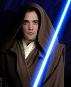 my Jedi Knight,R(obi)-Wan Pattinson...may the force be with you,baby<3