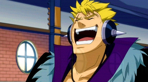 Laxus from Fairy Tail :)