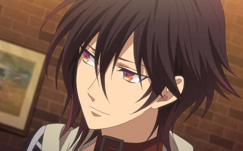 I think Shin from Amnesia has the best character design so far. I can't explain~ but his clothes design is just so awesome! The multiple colours in his eyes are just EXTREME! Its just everything of him is cool X3 Also he's hot!x