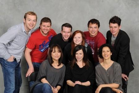 John Barrowman with his torchwood cast :)