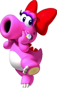 My お気に入り 任天堂 character and video game character is Birdo! To be honest, she's kinda cute! *blushes*