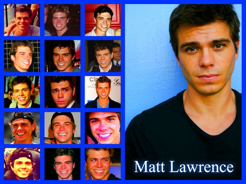 My collection of Matthew Lawrence. <333
