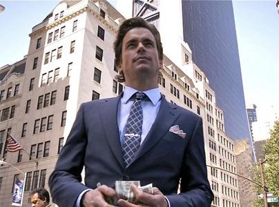 Matt Bomer with money in his hands :)