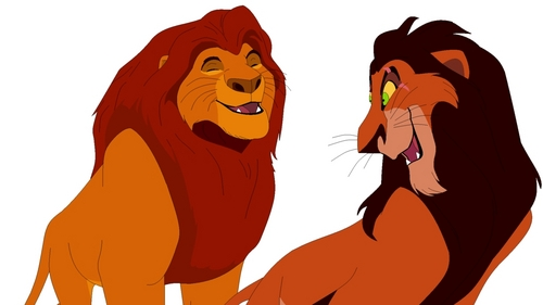 I'm assuming because the film makers wanted Scar to look evil so they figured a black mane is the best choice.