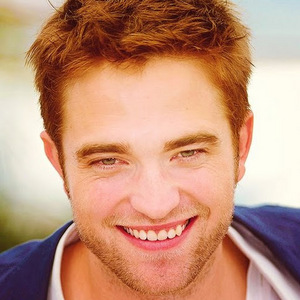my handsome Robert with laugh lines near his eyes<3