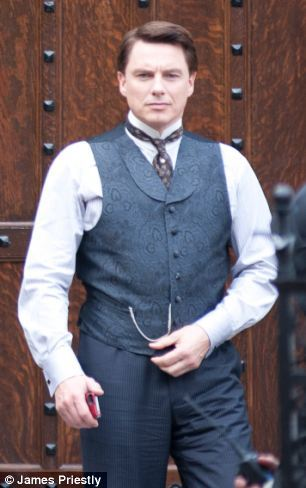 John Barrowman in Gilded Lilys :)