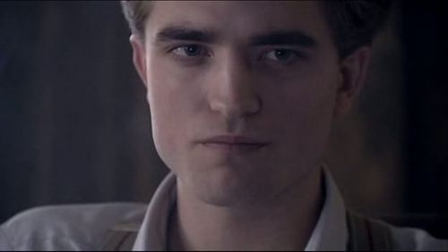 my gorgeous Robert ,in a scene from The Haunted Airman,which was set in the 1940's<3