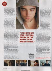 here is an article about my handsome Robert that tells a bit about him<3