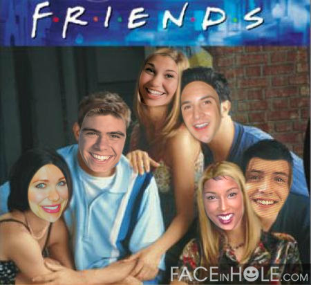My creation of Boy meets world combined with Friends. (Matthew in Chandler's body) XD