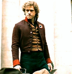 Aaron as Enjolras with his kwelyo up....me=*dead*