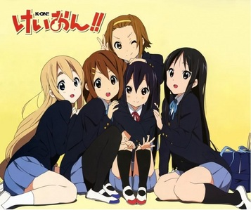 For me its K-on! my all time paborito anime~!! XD