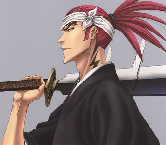 Any shade of red~ Renji Abarai from Bleach~