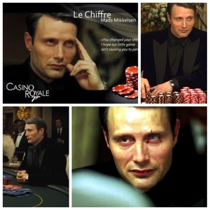 Mads Mikkelsen as Le Chiffre from Casino Royale <3