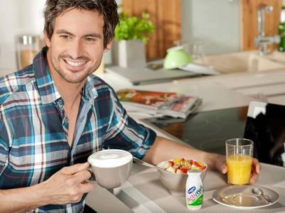 Tom in his Actimel commercial