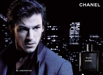 Gaspard Ulliel advertising for Chanel cologne.