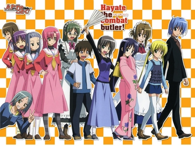 Hayate hardly has any male friends. The girls all like him because he's so considerate and makes them feel special. I wish I could be a fraction as considerate as Hayate.