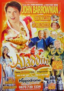 John Barrowman for Aladdin.