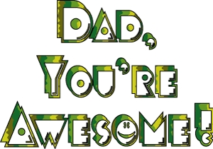 i dont see my dad often but what i do see of him is Totally AWESOME ......
