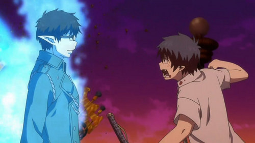 Ao no Exorcist.