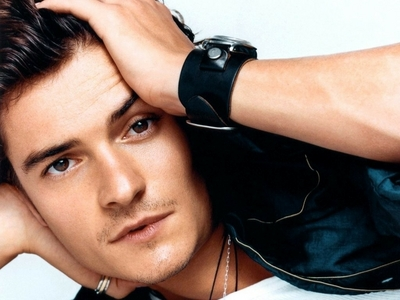 my 2nd fave Brit,Orlando Bloom with his warm brown tsokolate eyes<3