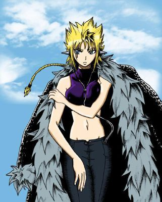 My result ....Ushi Dreyar Name: Ushi Dreyar Age: Immortal Appearance: Like pic (Ushi: Duh!) Magic: Transformations (three) and Holder mage Personality: Loyal, hopeless romantic, flirt, serious, hot-tempered and caring BFFs: Lilith (another result), Luxus and Gajeel Friends: Lucy, Gray Rivals: Natsu  Bio:  Your mother was Luxus&#39; mother and your father was Taurus. You are a halfling; half-spirit, half-human. Your mother left you and Luxus with your grandfather in Magnolia. At the age of ten, the Spirit King confronted you. He told you that he would forge a spirit key for you. You accepted, he gave you ten years to prepare yourself. You left Fairy Tail and wandered around Magnolia. Ten years later... You return to Fairy Tail. Some random salmon pink haired dude grabs you and kisses you. A female pulls him off( shocks him then glares at me. We both go blank. We could&#39;ve been twins! But that&#39;s impossible! Makarov and Luxus soon embrace me in a family hug. Suddenly I hear the sound of a gate opening and my father nearly shouting my name. A blonde closed his gate and apologized. Everything froze and the spirit king gave me my key, telling me that I have ten days to give it to a master. The world went back to normal and Lucy stares wide-eyed at my hand. I hand her my Zodiac key and she flips out, accepting the contract. I tell them about my father. That was also the day I met Loki...  What the others think about you: Natsu: I accidentally thought she was Lilith. I got quite the scolding that day. Ushi&#39;s the best rival I have! Gray: One hint: DO NOT PISS HER OFF!!!!! (Me: I&#39;ll take your word on that one, droopy eyes.) Lucy: I still can&#39;t believe I got her as a spirit.  Gajeel: Ushi! Is! The! Best! Luxus: She&#39;s my sister... And if that Loki breaks her heart... (Me and You: We get it! We get it! He&#39;ll die an agonizing death! Blah! Blah!) (Lucy: Gemini?) Makarov: She&#39;s my granddaughter. I love her, just as much as I love Luxus.  Other results