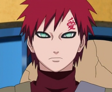 Kazekage Gaara (Naruto shippuden) When he became the kazekage girls started falling in प्यार with him..........and worrying abt him......he heh he he